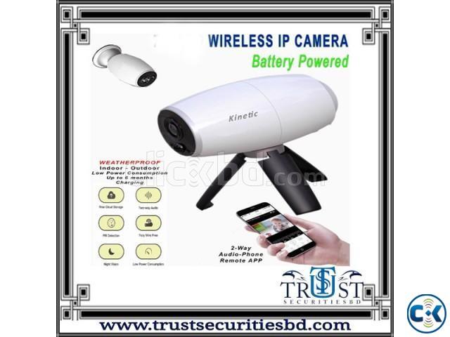 Wireless Battery Backup 2MP WiFi IP Camera | ClickBD large image 0