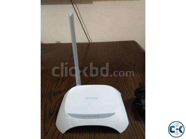 Tp Link 150 Mbps Router   ClickBD large image 0