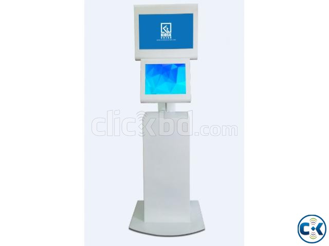 Touch Screen Digital Dual Monitor Kiosk | ClickBD large image 0