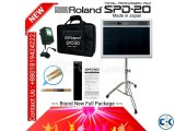 Roland SPD 20 Brand New Full Package .