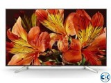 49 X7500F Sony Bravia 4K HDR ANDROID TV