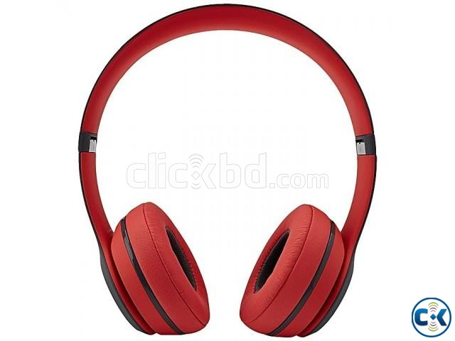 Beats Solo2 TM-019 Wireless Bluetooth Headphones - Black and | ClickBD large image 0