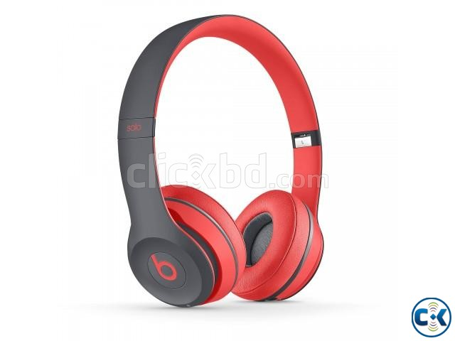 Beats Solo2 TM-019 Wireless Bluetooth Headphones - Black and | ClickBD large image 2