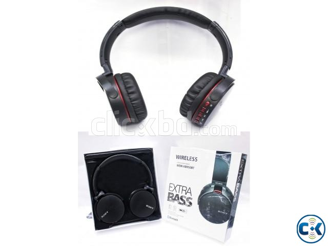 Sony MDR-XB 950BT Extra Bass High Definition Headphones | ClickBD large image 0