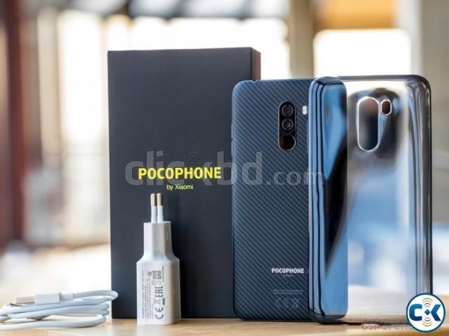 Brand New Xiaomi Pocophone F1 128GB Sealed Pack 3 Year Wanty | ClickBD large image 4