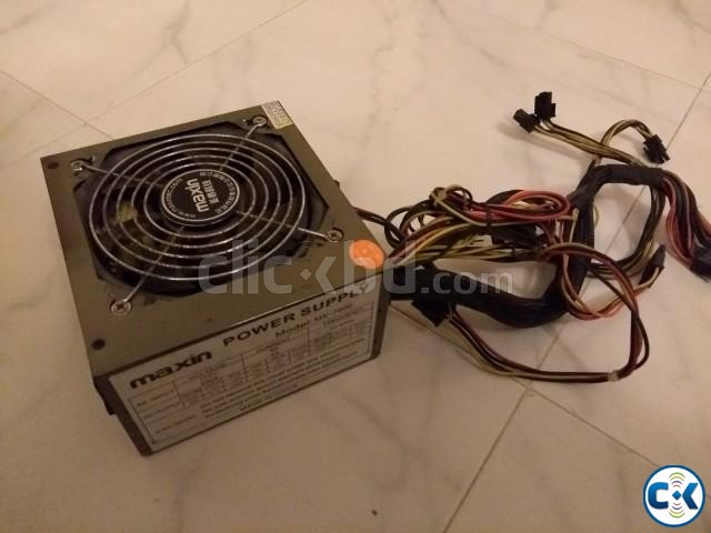 Maxin 600W Power Supply | ClickBD large image 1