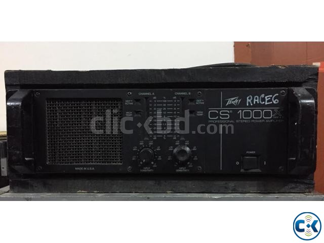 Peavey CS1000x Power Amp Made in USA   ClickBD large image 1
