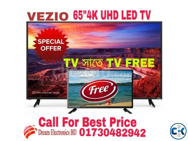 VEZIO 65 Android Smart LED TV | ClickBD large image 0