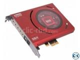 Sound Blaster Z Sound Card.