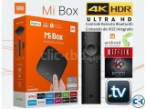 Mi Box Mi Box 4K Android TVTM set-top box HDR video