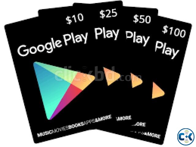 Google Play Gift Cards | ClickBD large image 0