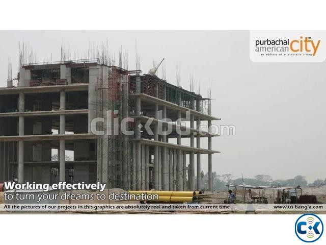 Urgent Plot Sale In Purbachal | ClickBD large image 1
