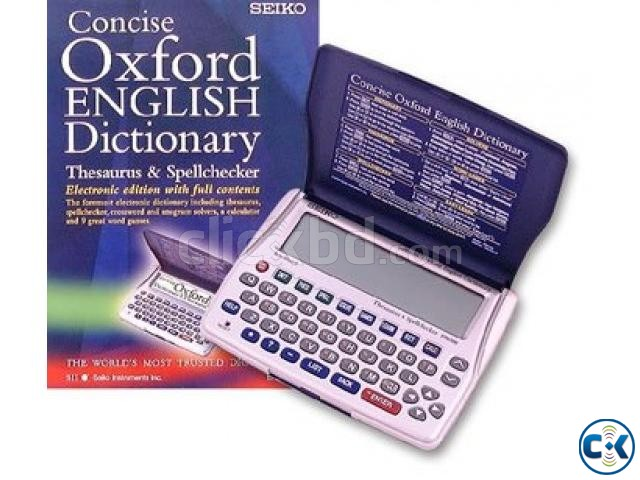 Seiko ER6100 Concise Oxford English Dictionary | ClickBD large image 0
