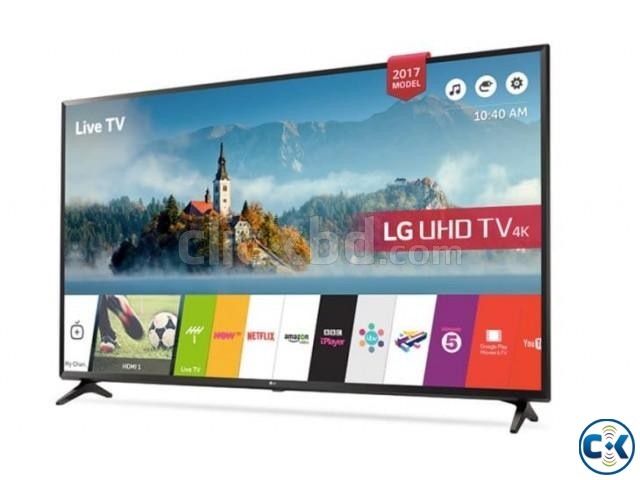 LG UJ630T 4K UHD 43 Inch HEVC Codec Smart LED Television | ClickBD large image 0