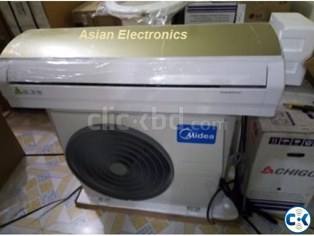 MIDEA Split Type Air Conditioner AC 1.5 Ton | ClickBD large image 2