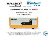 Solar IPS Sukam Brainy Eco 12v 1100va