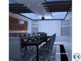 Corporate Office interior decoration Desk-500