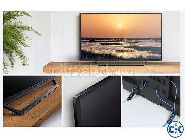 New Sony Bravia W602D 32 Wi-Fi USB YouTube Smart LED TV | ClickBD large image 2