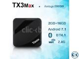Tanix TX3 Max 4k 16GB 2GB Android 7.1 TV Box