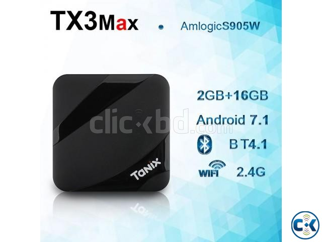 Tanix TX3 Max 4k 16GB 2GB Android 7.1 TV Box | ClickBD large image 0