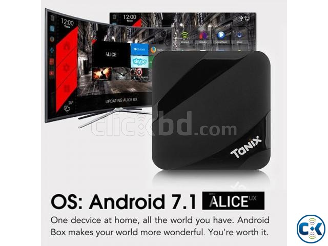 Tanix TX3 Max 4k 16GB 2GB Android 7.1 TV Box | ClickBD large image 1