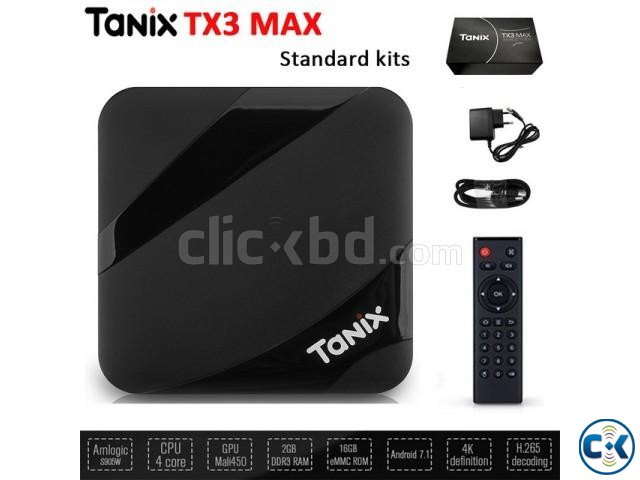 Tanix TX3 Max 4k 16GB 2GB Android 7.1 TV Box | ClickBD large image 2