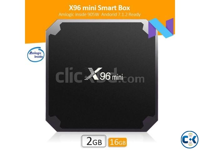 X96 MINI Android 7.1 TV Box 1G 8G Smart TV BOX | ClickBD large image 0