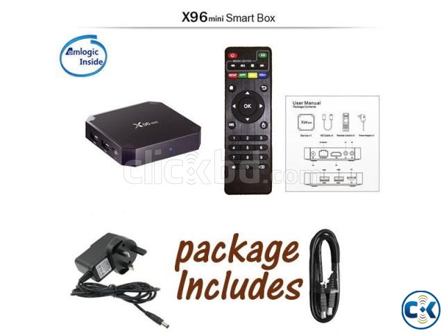X96 MINI Android 7.1 TV Box 1G 8G Smart TV BOX | ClickBD large image 4