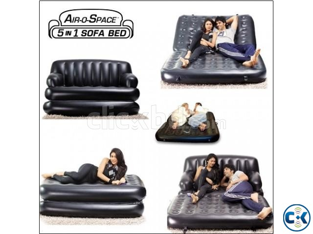 5in1 Air-O-Space sofa bed as Seen on TV | ClickBD large image 1