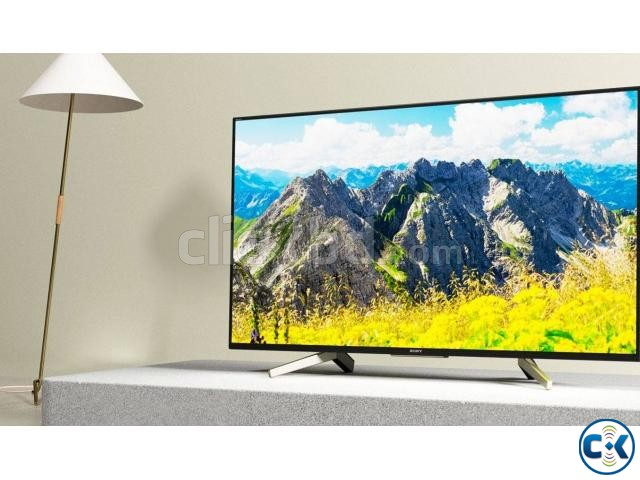 Sony Bravia X7500F 4K UHD 49 High Dynamic Android LED TV | ClickBD large image 0
