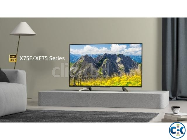 Sony Bravia X7500F 4K UHD 49 High Dynamic Android LED TV | ClickBD large image 1