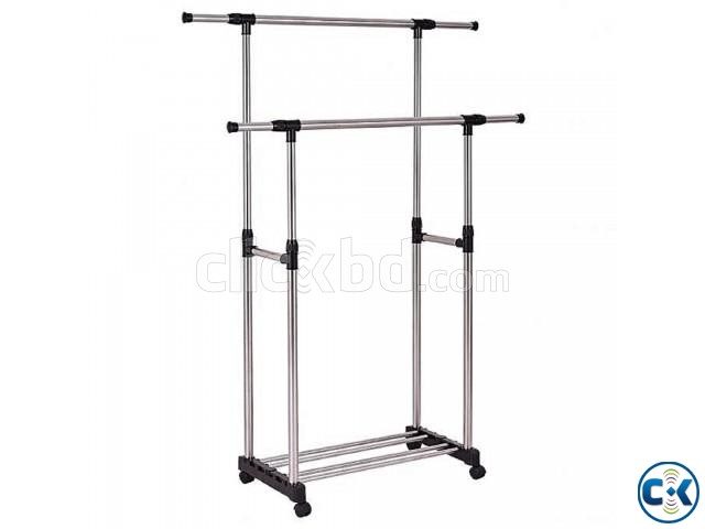 Double Clothe s Rack | ClickBD large image 0