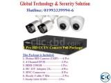 8-Pcs HD CCTV Camera Full Package