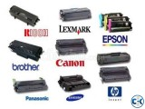 All Kind of HP Canon SAMSUNG Black Print Toner Cartridge