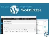 Create your Wordpress blog