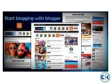 Create your blogger blog from us