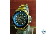 Rolex Submariner Gold Blue copy watch