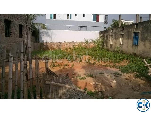 3.65 katha plot sale in Solmaid Badda | ClickBD large image 0