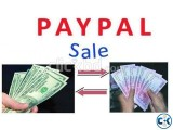I WANT TO SELL PAYPAL DOLLAR