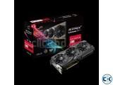 ASUS ROG Strix Radeon RX 580 8GB