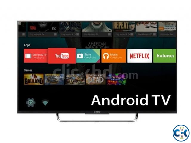 New Sony Bravia W800C 43 Wi-Fi FHD Smart 3D LED Android TV | ClickBD large image 0