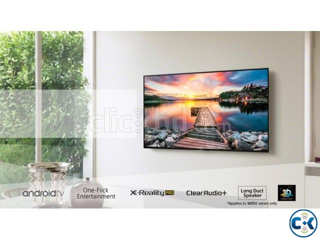 New Sony Bravia W800C 43 Wi-Fi FHD Smart 3D LED Android TV | ClickBD large image 1