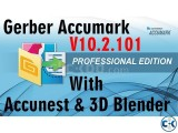 Gerber Accumark 10.2 Accunest 3D Bender Full Activation