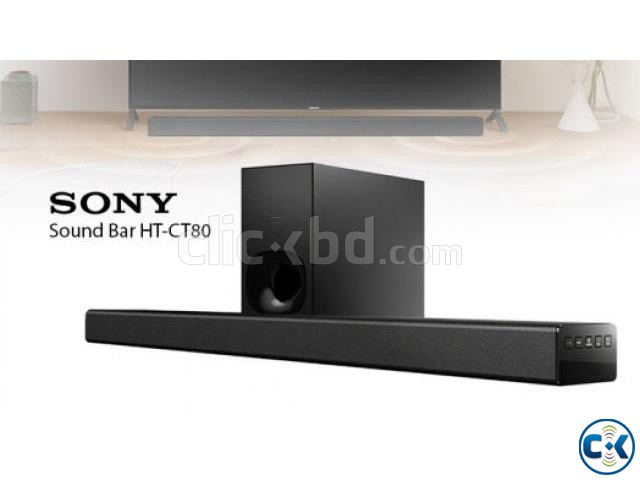 Sony HT-CT80 Soundbar 80-Watt Bluetooth Home Speaker | ClickBD large image 0