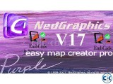 NedGraphics Easy Map Creator Pro V17 Easy Map Viewer V17
