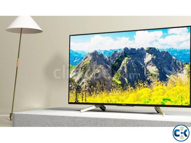 Sony Bravia KD-49X7500F 49 4K UHD LED Smart Television | ClickBD large image 0