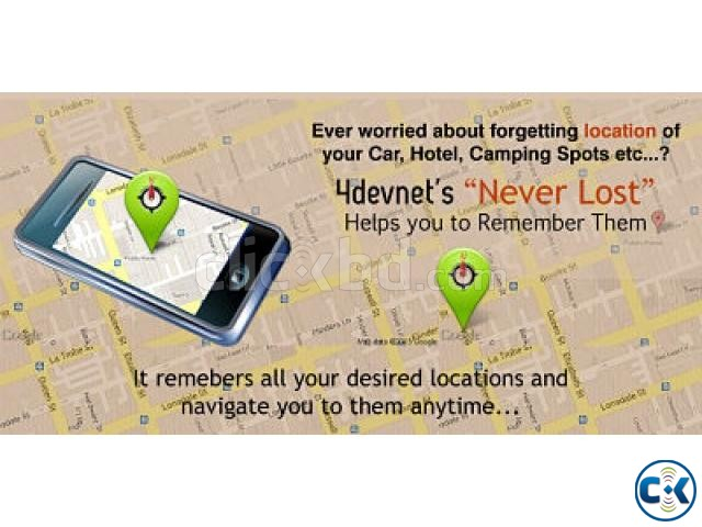 4devnet s android never lost mobile app | ClickBD large image 0