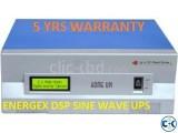 ENERGEX DSP SINEWAVE STATIC UPS ONLINE 1000 VA 5yr WAR