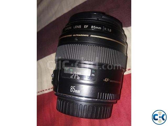 Canon 85mm Prime Lens | ClickBD large image 0