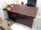 Brown Color Office Desk